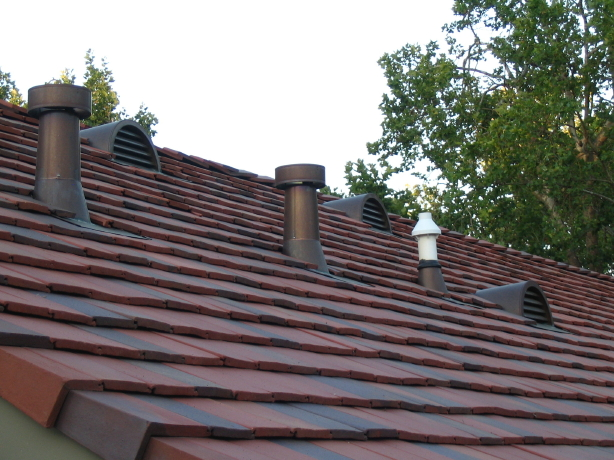 Half Round Copper Dormer Vents With Reveal Face And Set