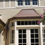 Copper Sweep Style Bay Window over Eclipse Millennium Copper Gutter