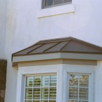 Taper Style Copper Bay Window