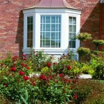 Sweep Style Copper Bay Window