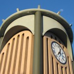 Underside Of Compound Radius Clock Tower Spacers