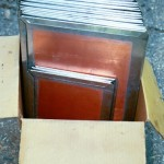 Box Of Pre-Tinned Copper Roofing Shingles