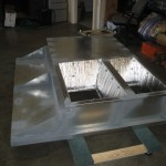Custom Welded Curb With Astro Foil Insulation