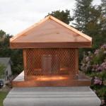 Copper Chimney Cap w/Expanded Copper Spark Arrestor
