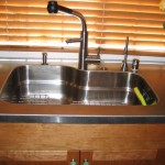 Stainless Sink Welded Into Countertop