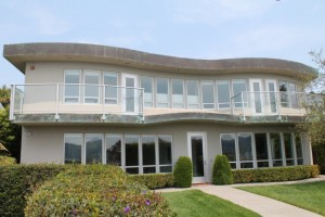 Curved Copper Fascias For Tiburon, CA Residence