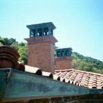 Mission Style Copper Deco Top And Eclipse Millennium Gutter