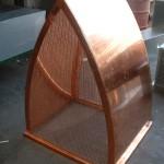 Arch Style Copper Deco Top