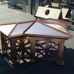Custom Sierra Style Copper Deco Top