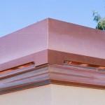 Custom Copper Sweep Deco Top