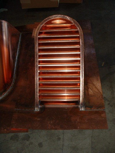 Tombstone Copper Dormer Vent