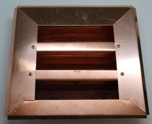 Custom Copper Louver for out of state customer