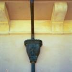 Cast Bronze Eclipse Millennium Leaderhead W/Fleur-de-lis Emblem