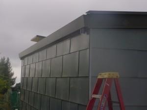 Zinc Panel Siding