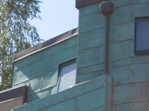 Copper Siding Panels
