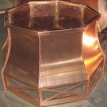 Octagonal Copper Deco Top