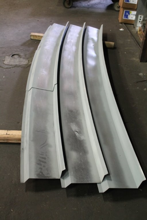 Radius Galvanized Z Bar Flashing