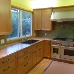 Vibration Finish Copper Countertops