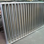 Large Galvanized Louver for Commercial application
