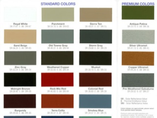 Sheet Metal Color Chart - Best Picture Of Chart Anyimage.Org