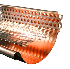 5'' World Gutter System Copper Gutter Screen