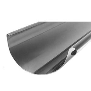 zinc half round gutter