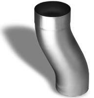 """3"""" round zinc downspout offset"""