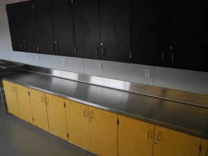 16 Ga Stainless Steel Countertop for MVHS