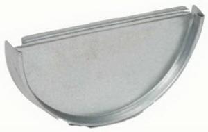galv-half-round-end-cap