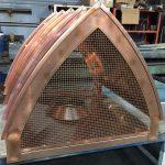 Bishop Style Copper Deco Top