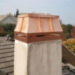 Custom Copper Standing Seam Deco Top - Installed