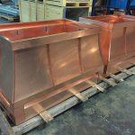 Custom Copper Standing Seam Deco Tops