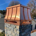 Sweep Copper Deco Top with Standing Seams Dec 2020