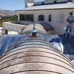Copper Barrel Roof 2 Sept 2021