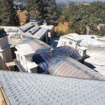 Copper Barrel Roof 3 Sept 2021