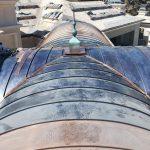 Copper Barrel Roof 4 Sept 2021